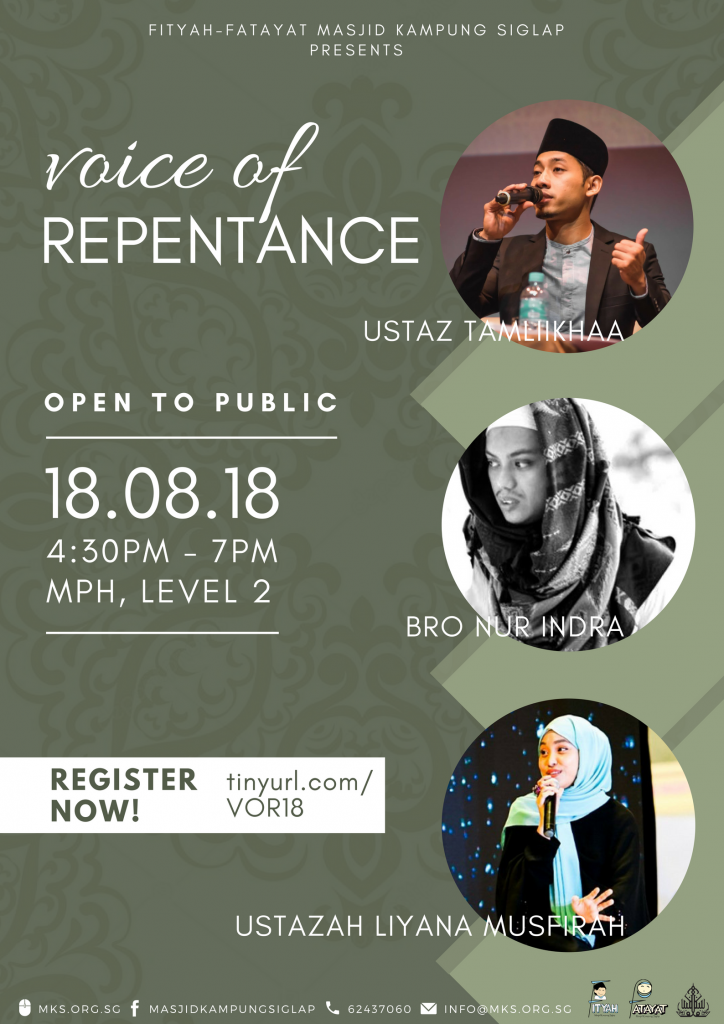 Voice of Repentance FORUM