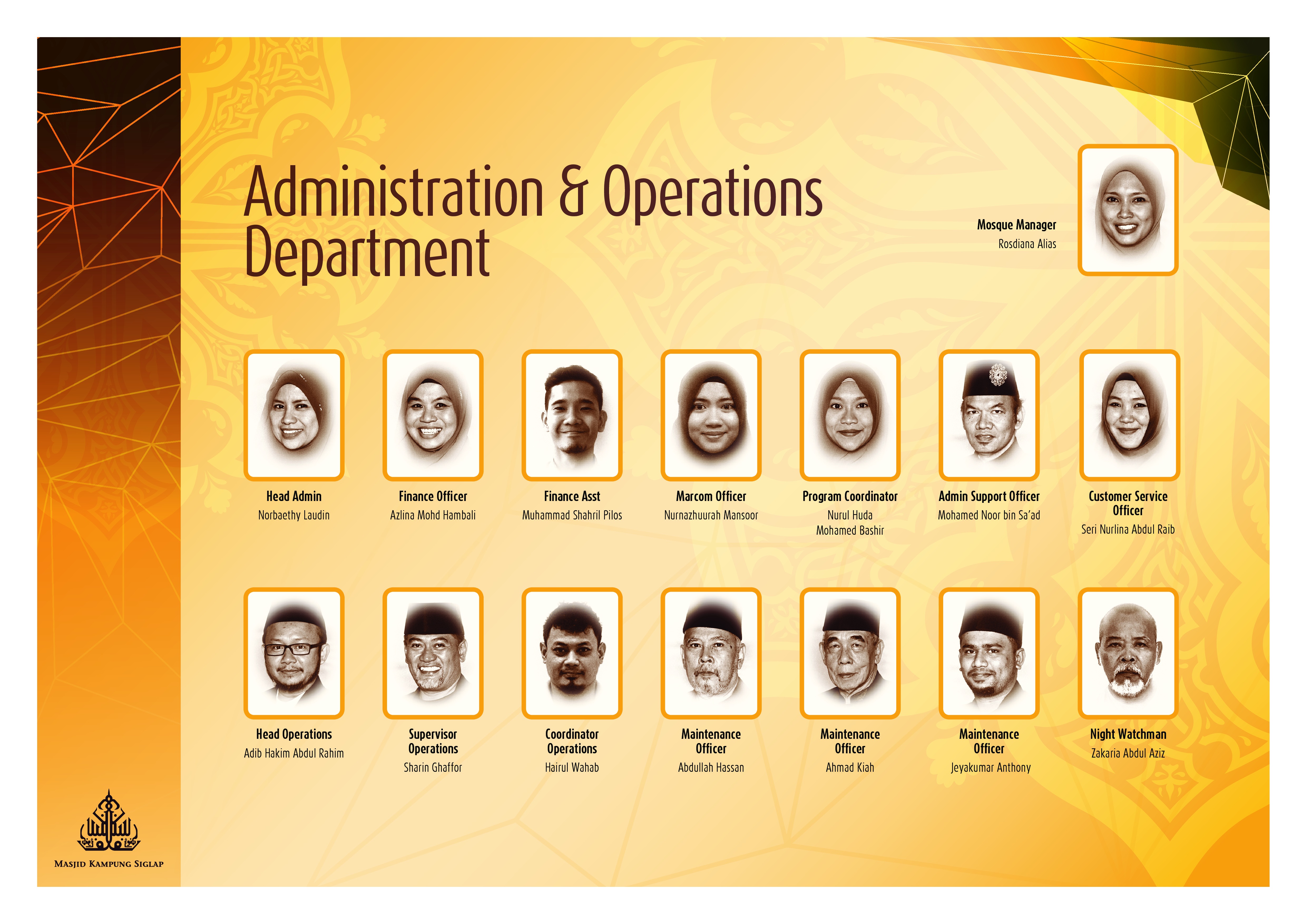 Administration & Operations